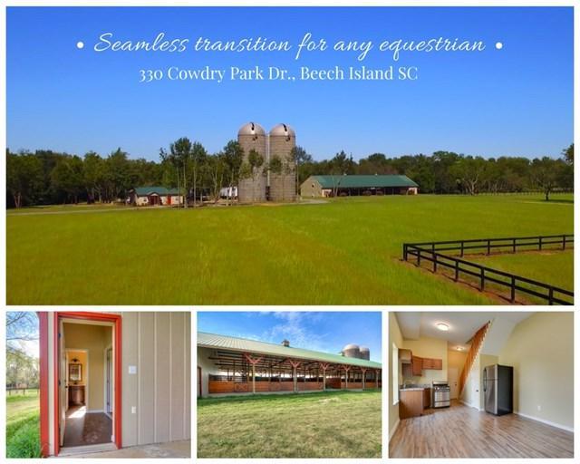 330 Cowdry Park Road, BEECH ISLAND, SC 29842 (MLS #101378) :: Shannon Rollings Real Estate