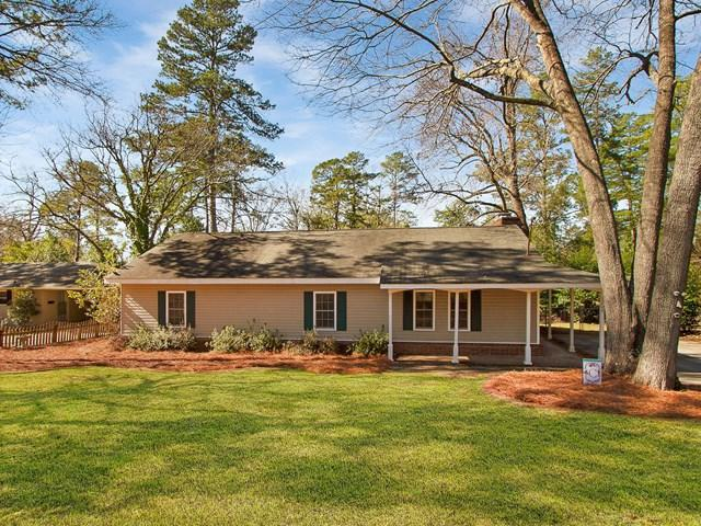 1208 Crestview Avenue, NORTH AUGUSTA, SC 29841 (MLS #101635) :: Shannon Rollings Real Estate