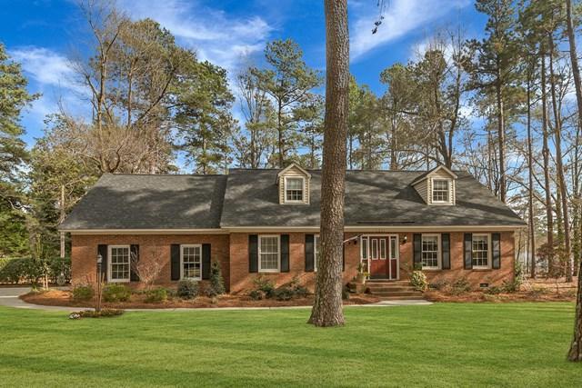 1531 Alpine Drive, AIKEN, SC 29803 (MLS #101707) :: Shannon Rollings Real Estate