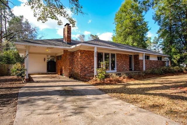 437 Gilbert, AIKEN, SC 29801 (MLS #101717) :: Shannon Rollings Real Estate