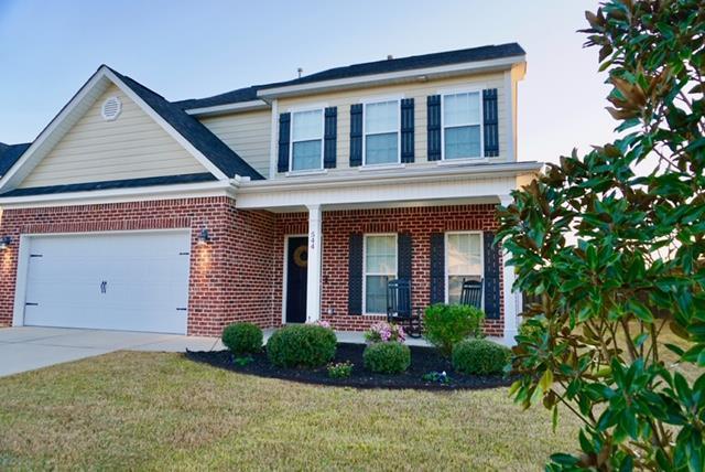 544 Curzon Ct, AIKEN, SC 29801 (MLS #106801) :: Meybohm Real Estate