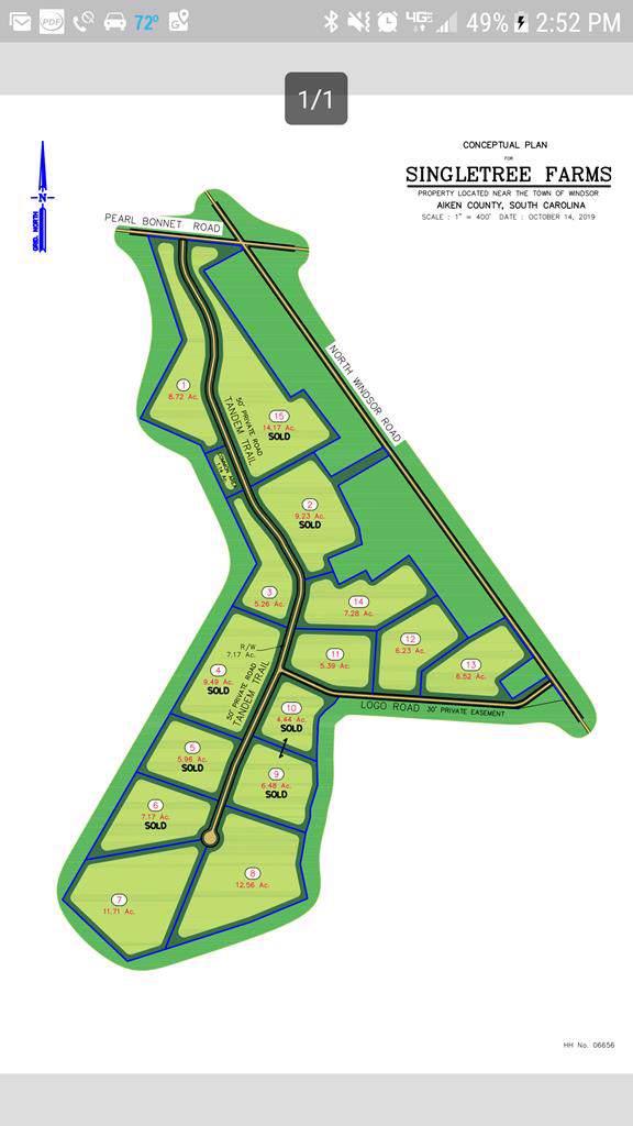 Lot 7 Tandem Trail, WINDSOR, SC 29856 (MLS #109957) :: RE/MAX River Realty