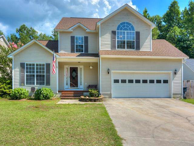 225 Amy Circle, NORTH AUGUSTA, SC 29841 (MLS #109973) :: Shannon Rollings Real Estate