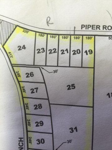 0000 Piper Road, RIDGE SPRING, SC 29129 (MLS #90881) :: Shannon Rollings Real Estate