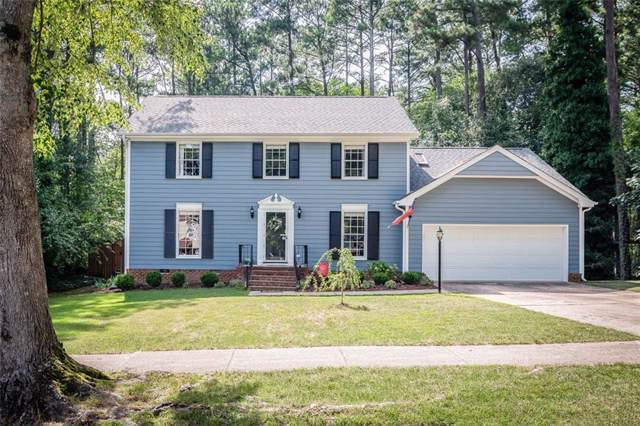 5817 Morning Forest Drive, Raleigh, NC 27609 (MLS #105337) :: Nanette & Co.