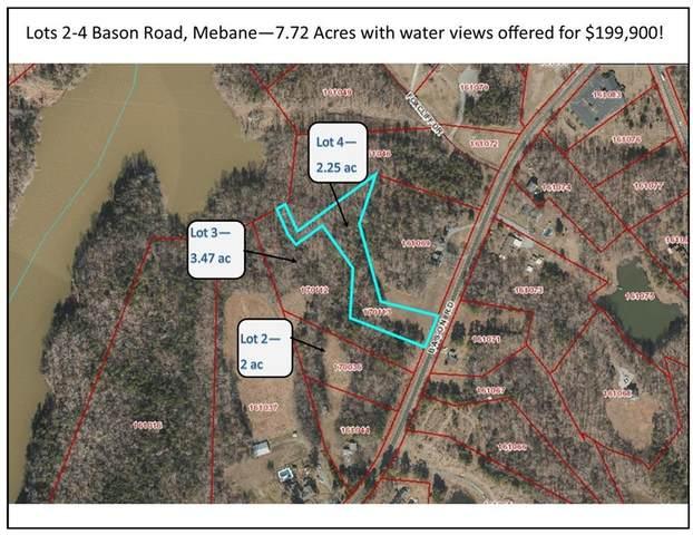 3632, 3644, 3656 Bason Road Lots 2-4, Mebane, NC 27302 (MLS #109357) :: Nanette & Co.