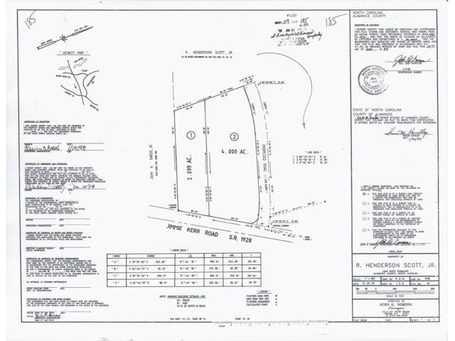0 Jimmie Kerr Rd, Lot 2, Haw River, NC 27258 (MLS #83452) :: Nanette & Co.