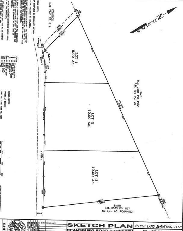 6725 Keansburg Road, Gibsonville, NC 27249 (MLS #105326) :: Nanette & Co.