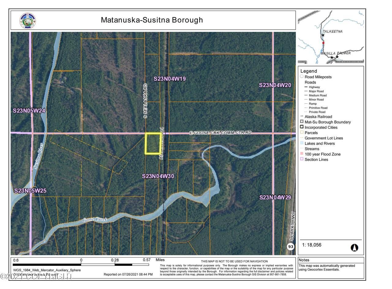 LOT1 BLK10 No Road Goose Creek Rec Area - Photo 1