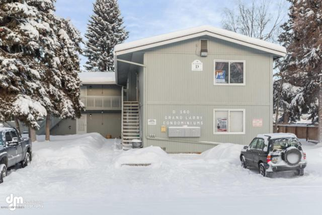 160 Grand Larry Street #D7, Anchorage, AK 99504 (MLS #17-18999) :: Team Dimmick