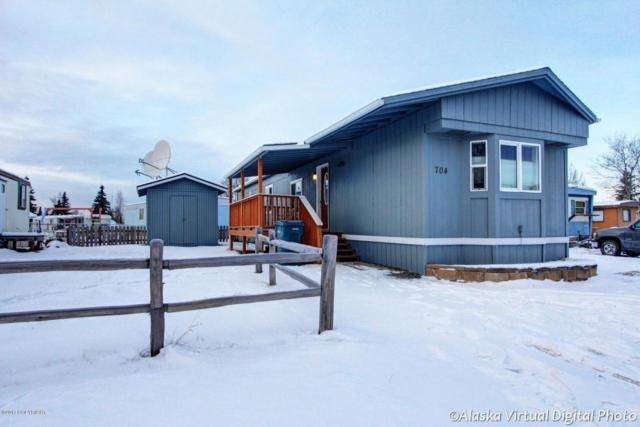 1200 W Dimond Boulevard #704, Anchorage, AK 99515 (MLS #17-19469) :: Channer Realty Group