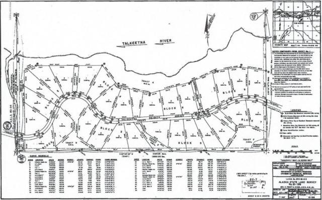 L1 B4 No Road Talkeetna Bluffs, Talkeetna, AK 99676 (MLS #18-13597) :: Team Dimmick