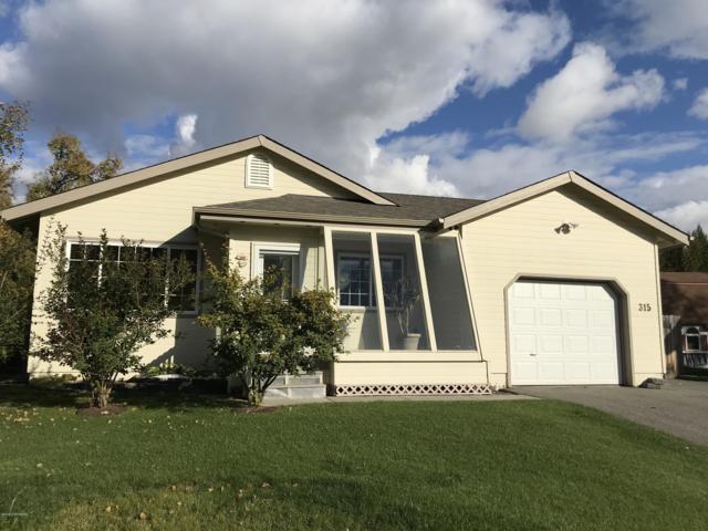 315 N Gloria Street, Palmer, AK 99645 (MLS #18-16103) :: Northern Edge Real Estate, LLC