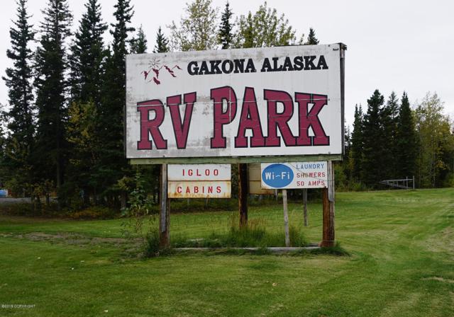 Mi 4.5 Tok Highway, Gakona, AK 99586 (MLS #18-16133) :: Northern Edge Real Estate, LLC