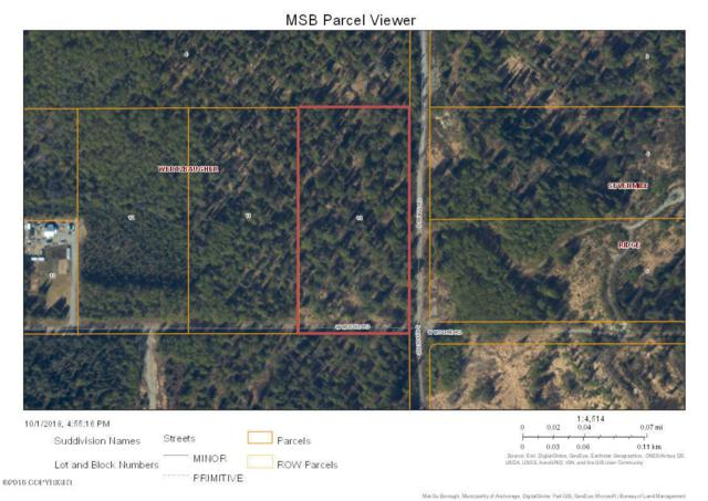 L10 Corner Moore And  Ridge Road, Wasilla, AK 99652 (MLS #18-17757) :: RMG Real Estate Network | Keller Williams Realty Alaska Group