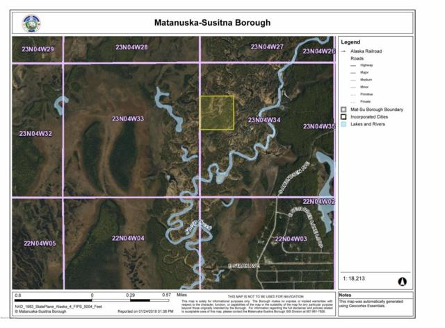 B002 W Sheep Creek Trail, Talkeetna, AK 99676 (MLS #18-2333) :: RMG Real Estate Network | Keller Williams Realty Alaska Group