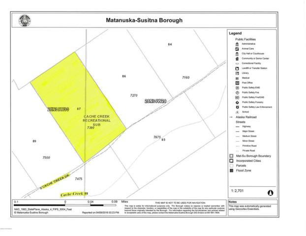7390 Cache Creek Drive, Trapper Creek, AK 99683 (MLS #18-2421) :: RMG Real Estate Network | Keller Williams Realty Alaska Group