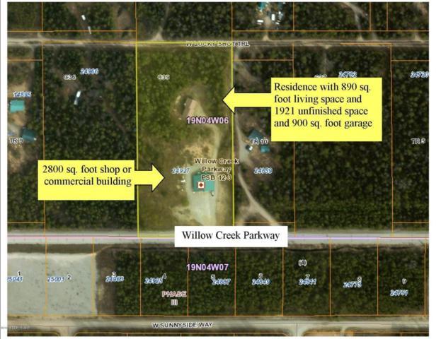 24927 Willow Creek Parkway, Willow, AK 99688 (MLS #18-7999) :: Team Dimmick