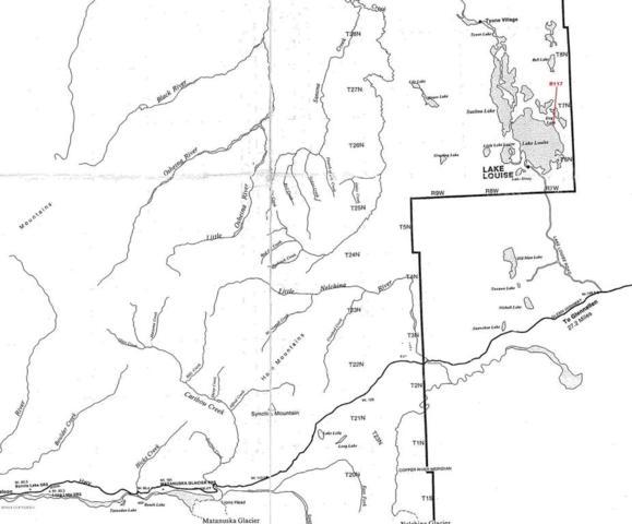 Lt 6 Lake Louise, Glennallen, AK 99588 (MLS #18-8010) :: Team Dimmick