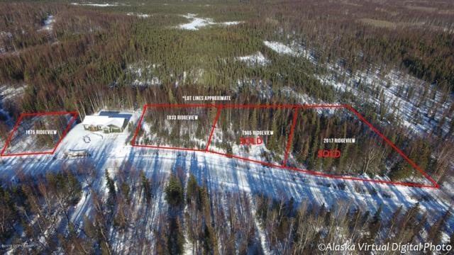 1875 E Ridgeview Drive, Wasilla, AK 99654 (MLS #19-13833) :: RMG Real Estate Network | Keller Williams Realty Alaska Group