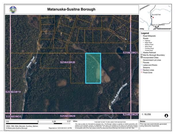 Tr C No Road Trail, Talkeetna, AK 99676 (MLS #19-17992) :: RMG Real Estate Network | Keller Williams Realty Alaska Group