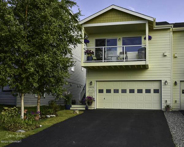 1405 Northbluff Drive #9, Anchorage, AK 99501 (MLS #20-13190) :: Team Dimmick