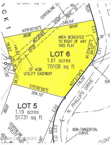Lot 6 N Phillips Drive, Wasilla, AK 99623 (MLS #20-18191) :: RMG Real Estate Network | Keller Williams Realty Alaska Group