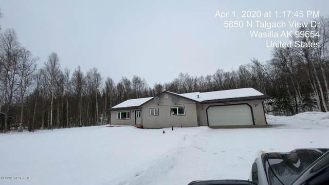 5850 N Talgach View Drive, Wasilla, AK 99654 (MLS #20-4395) :: Alaska Realty Experts