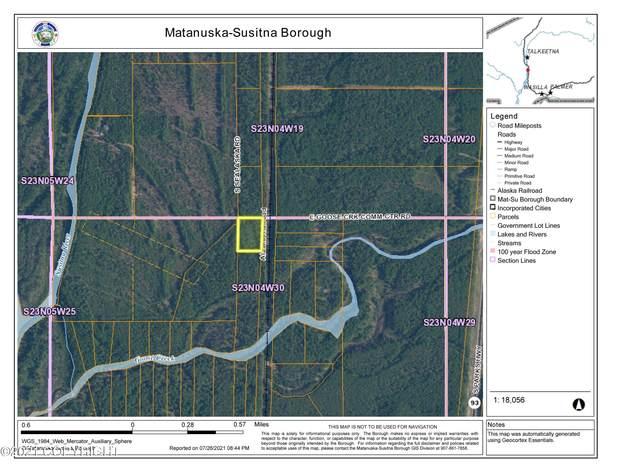 LOT1 BLK10 No Road Goose Creek Rec Area, Talkeetna, AK 99676 (MLS #21-11919) :: Team Dimmick