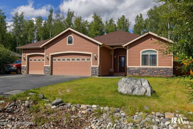 7151 S Frontier Drive, Wasilla, AK 99623 (MLS #21-12955) :: Wolf Real Estate Professionals
