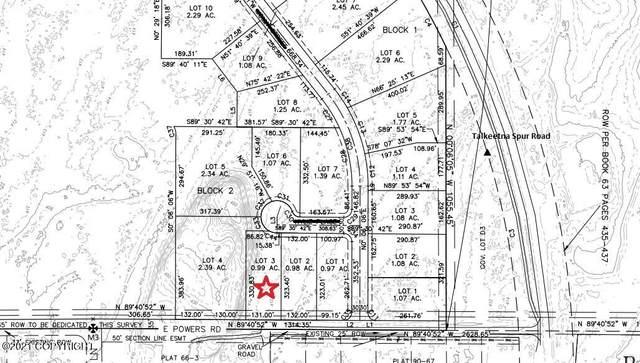 L3 Chanterelle Circle, Talkeetna, AK 99676 (MLS #21-16205) :: Wolf Real Estate Professionals