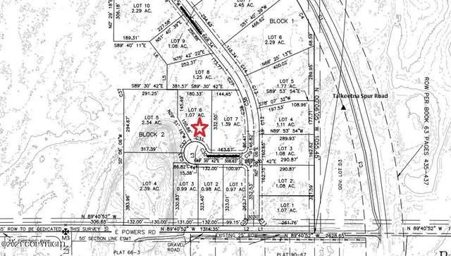 L6 Chanterelle Circle, Talkeetna, AK 99676 (MLS #21-16207) :: Wolf Real Estate Professionals