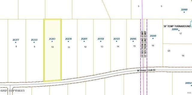 25283 Sheep Creek Drive, Willow, AK 99688 (MLS #21-16396) :: Berkshire Hathaway Home Services Alaska Realty Palmer Office