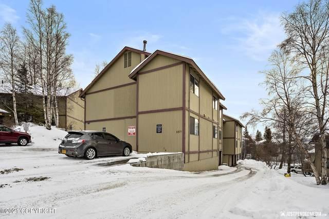 6631 Weimer Drive #C, Anchorage, AK 99502 (MLS #21-3496) :: Team Dimmick