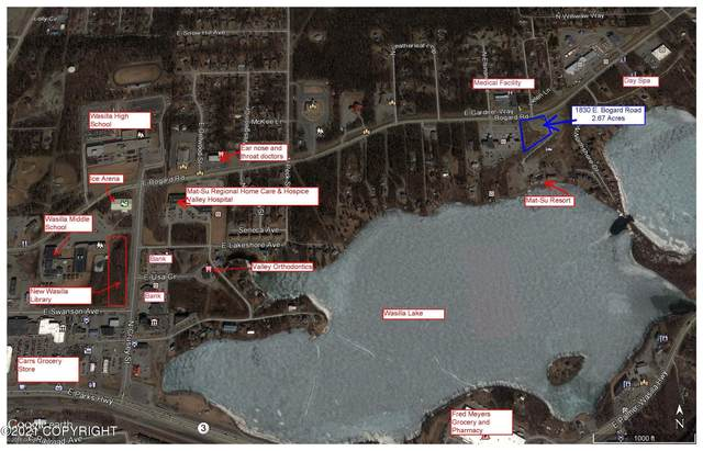 1830 E Bogard Road, Wasilla, AK 99654 (MLS #21-642) :: The Adrian Jaime Group | Keller Williams Realty Alaska