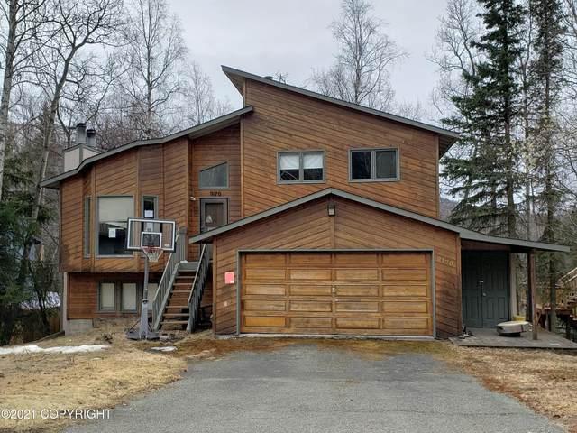9170 W Parkview Terrace Loop, Eagle River, AK 99577 (MLS #21-7623) :: The Adrian Jaime Group | Real Broker LLC