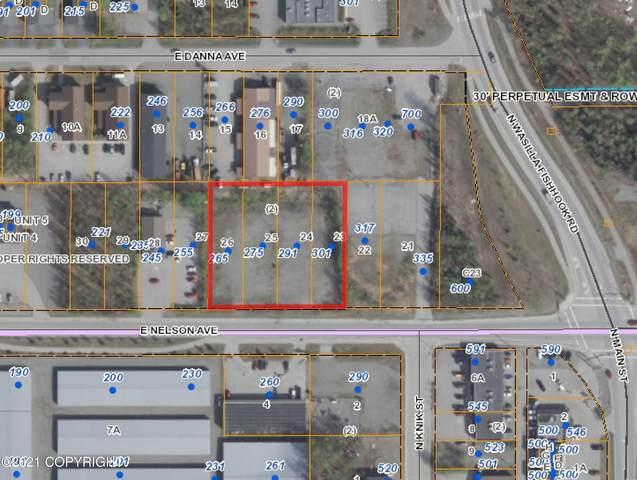 265 & 275 E Nelson Avenue, Wasilla, AK 99654 (MLS #21-8914) :: RMG Real Estate Network | Keller Williams Realty Alaska Group