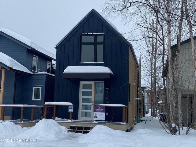 250 E 11th Avenue #4, Anchorage, AK 99501 (MLS #21-2103) :: Team Dimmick