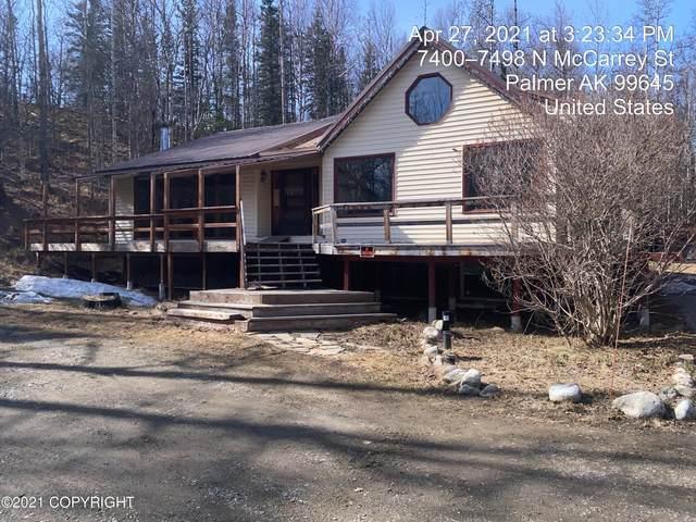 7400 Mccarrey Street, Palmer, AK 99645 (MLS #21-4808) :: Alaska Realty Experts
