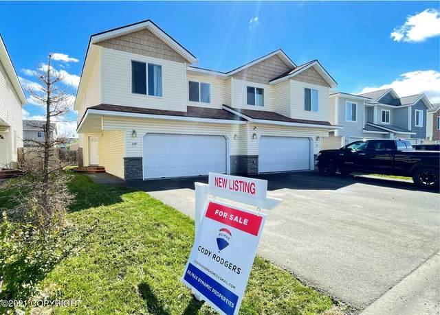 249 Skwentna Drive #7, Anchorage, AK 99504 (MLS #21-7744) :: Wolf Real Estate Professionals