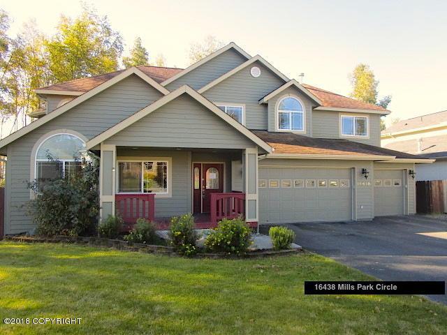16438 Mills Park Circle, Eagle River, AK 99577 (MLS #18-16302) :: Team Dimmick