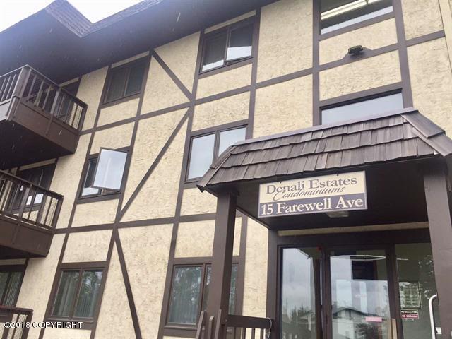 15 Farewell Avenue #105, Fairbanks, AK 99701 (MLS #18-16978) :: Core Real Estate Group