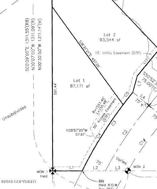 L1 Birchwood Loop Road, Chugiak, AK 99567 (MLS #18-19645) :: Core Real Estate Group