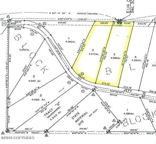 L2-3 B2 Jeff Drive, Delta Junction, AK 99737 (MLS #18-2757) :: Real Estate eXchange