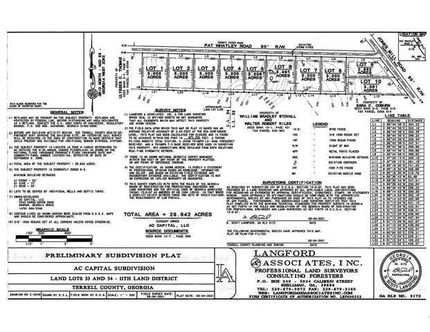 Lot 5 Pat Whatley Road, Dawson, GA 39842 (MLS #148710) :: Hometown Realty of Southwest GA