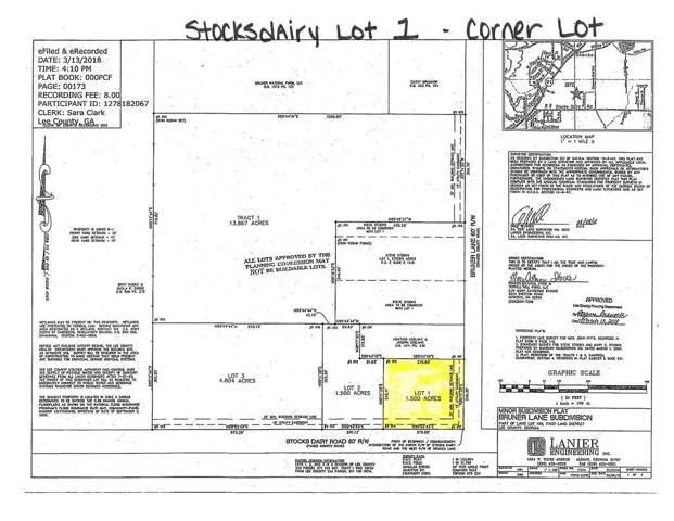 Lot 1 Stocks Dairy Road, Leesburg, GA 31763 (MLS #141708) :: RE/MAX