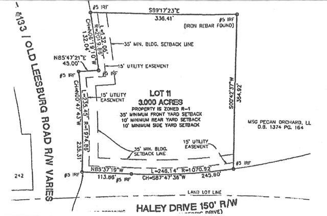 101 Haley Drive, Leesburg, GA 31063 (MLS #138846) :: RE/MAX