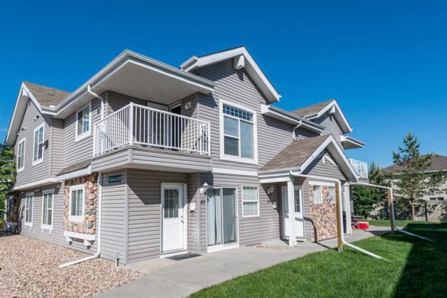 47 150 Edwards Dr., Edmonton, AB T6X 1M4 (#E4067913) :: The Foundry Real Estate Company
