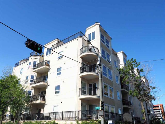507 10707 102 Avenue NW, Edmonton, AB T5J 5E4 (#E4070282) :: The Foundry Real Estate Company