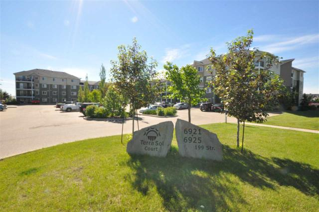 301 6925 199 Street, Edmonton, AB T5A 0E9 (#E4070414) :: The Foundry Real Estate Company